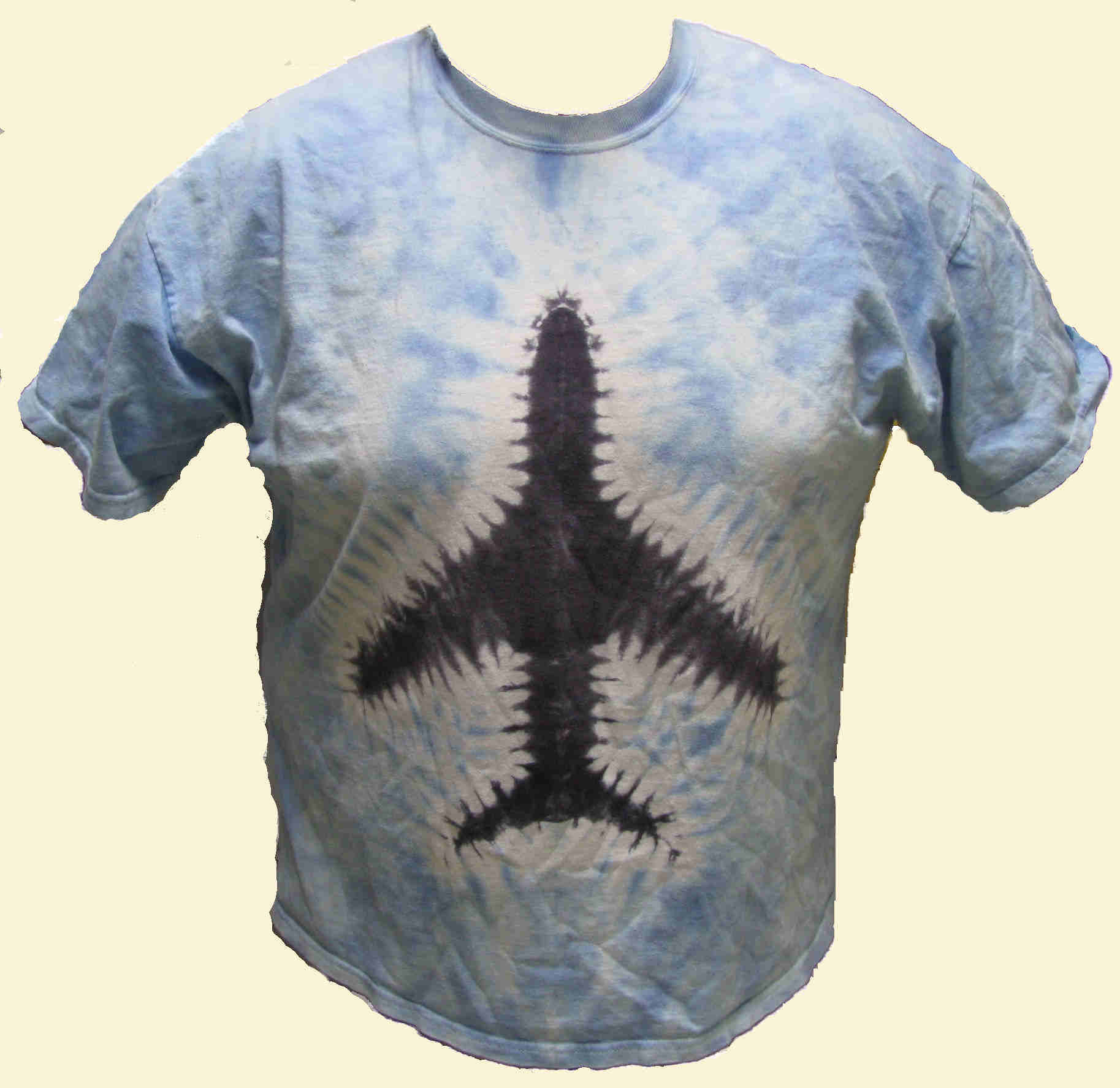 Jet Plane Tie Dyed T-Shirt